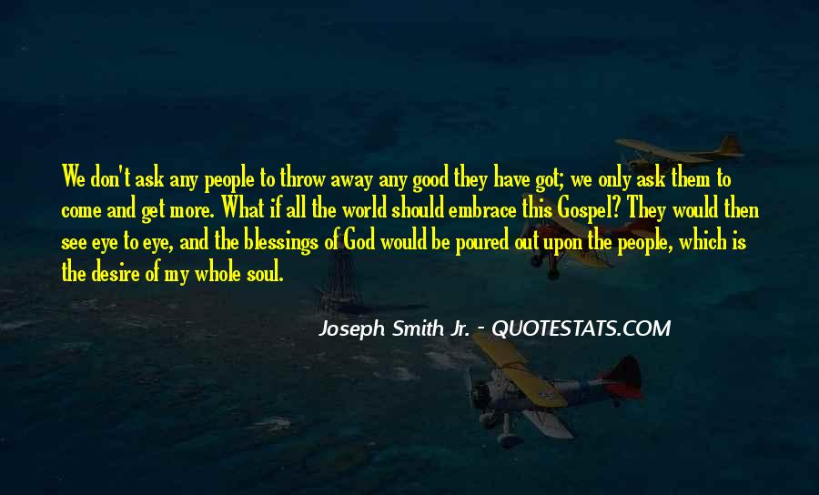 Quotes About The Blessings Of God #98050