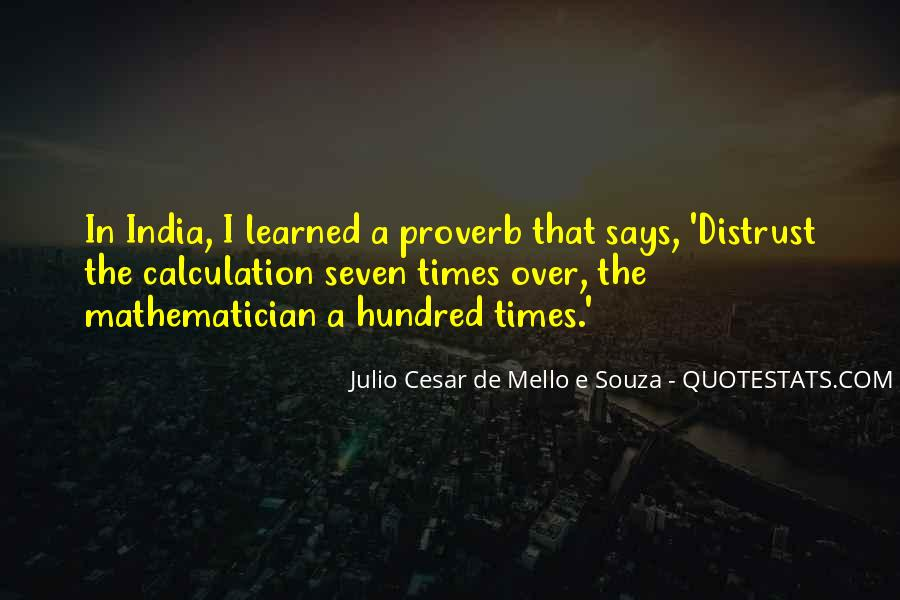 Quotes About Calculation #1088309