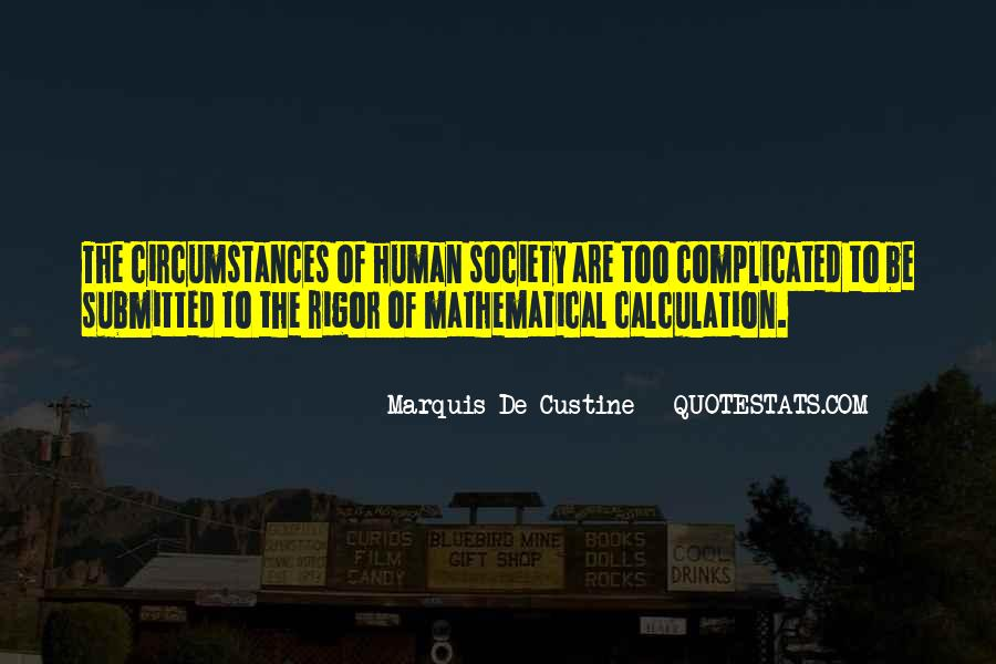Quotes About Calculation #1099537