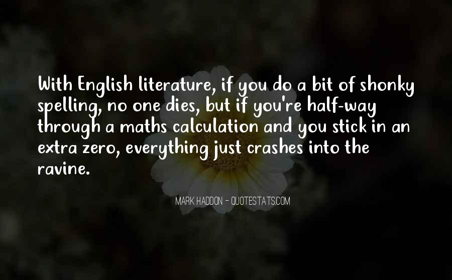 Quotes About Calculation #245398