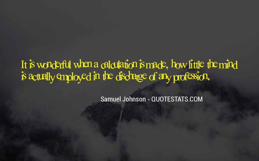 Quotes About Calculation #336027