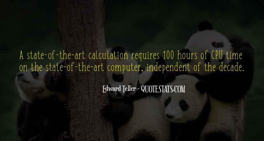 Quotes About Calculation #354059