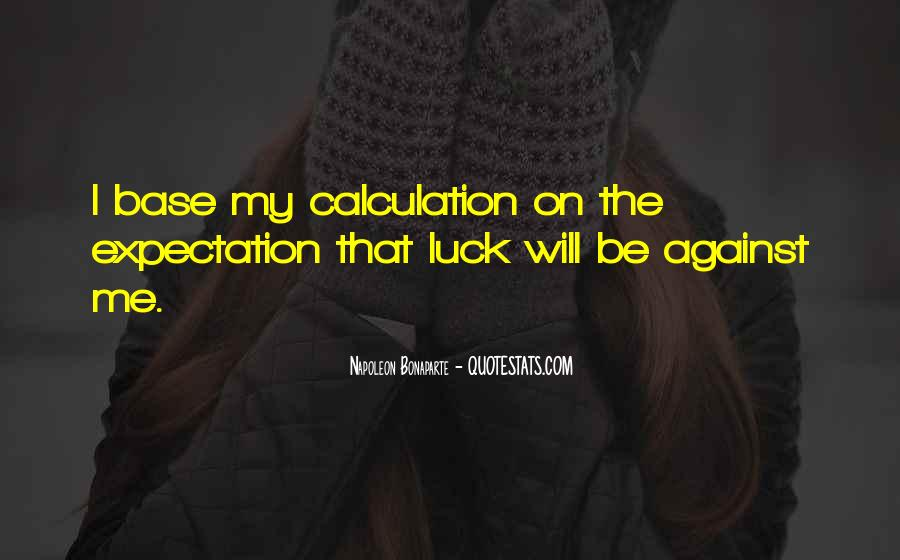 Quotes About Calculation #374461