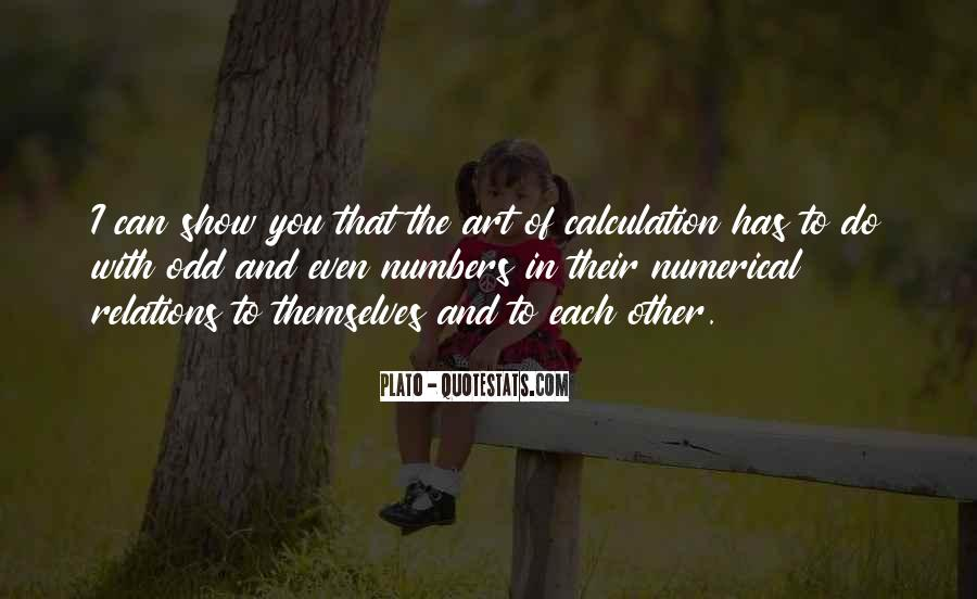 Quotes About Calculation #673564