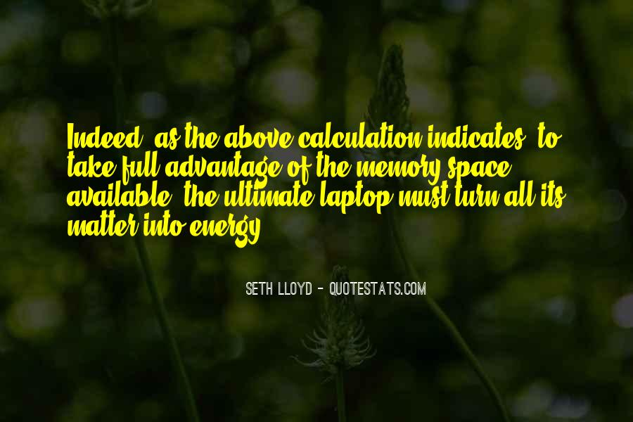 Quotes About Calculation #702507