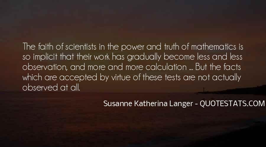 Quotes About Calculation #907532