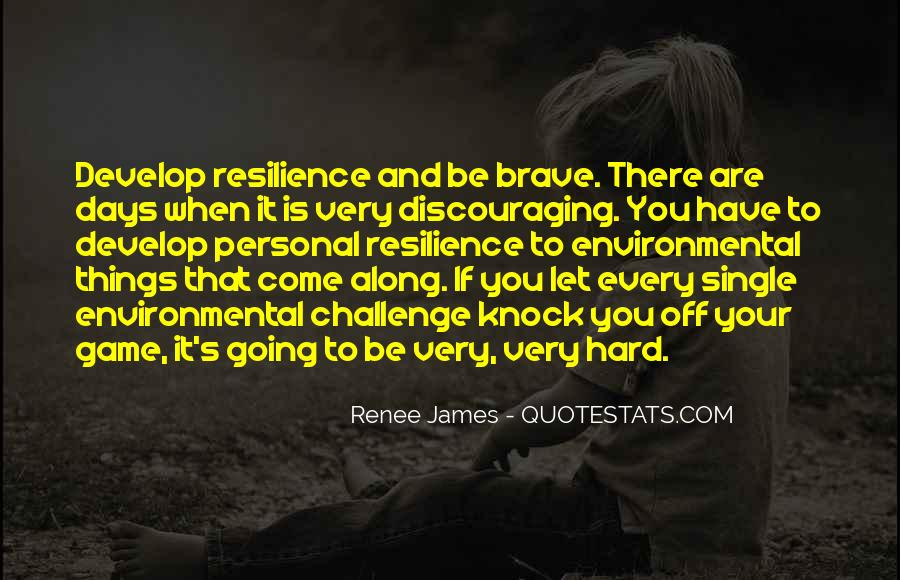 Quotes About Discouraging #1046697