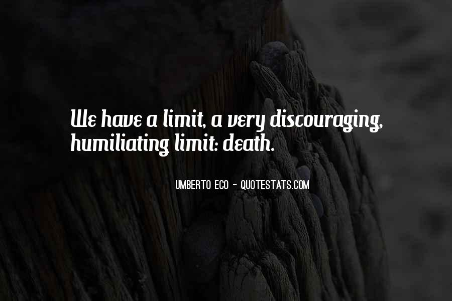 Quotes About Discouraging #114456