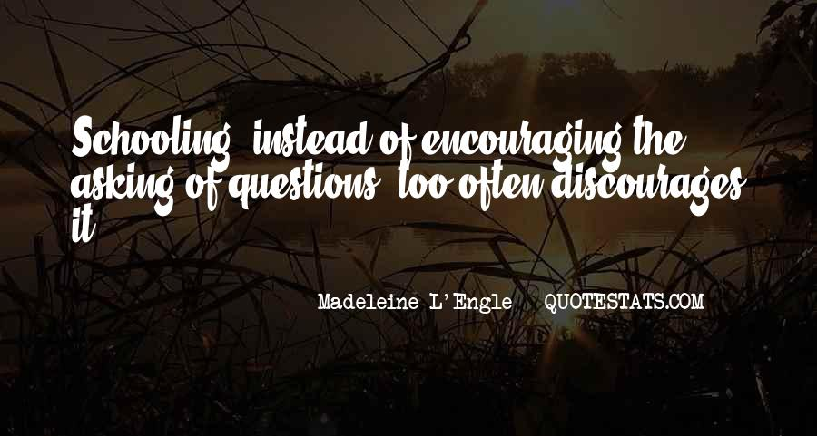 Quotes About Discouraging #1238244