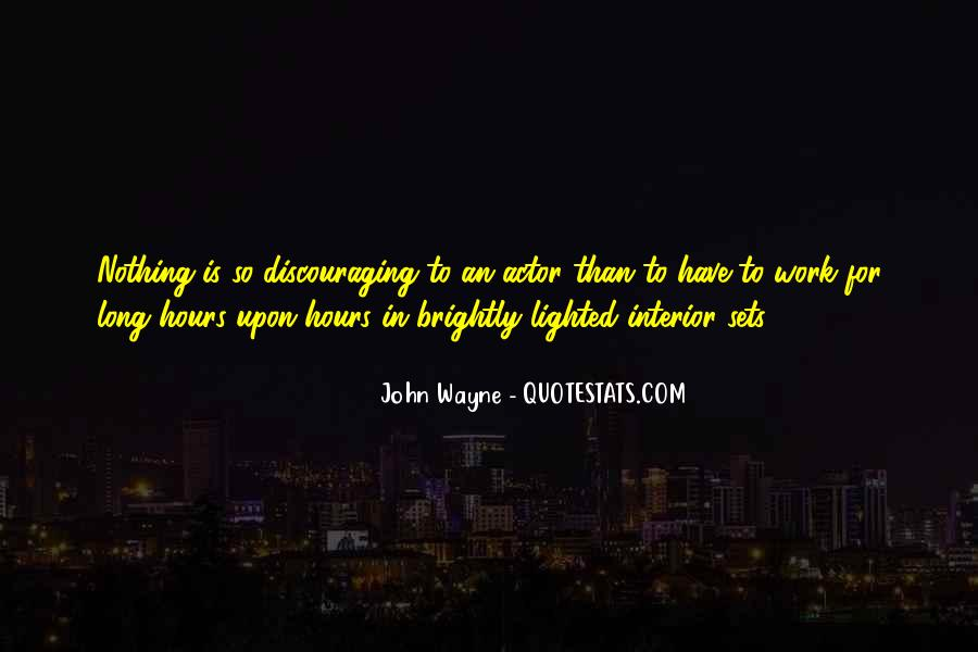 Quotes About Discouraging #131207