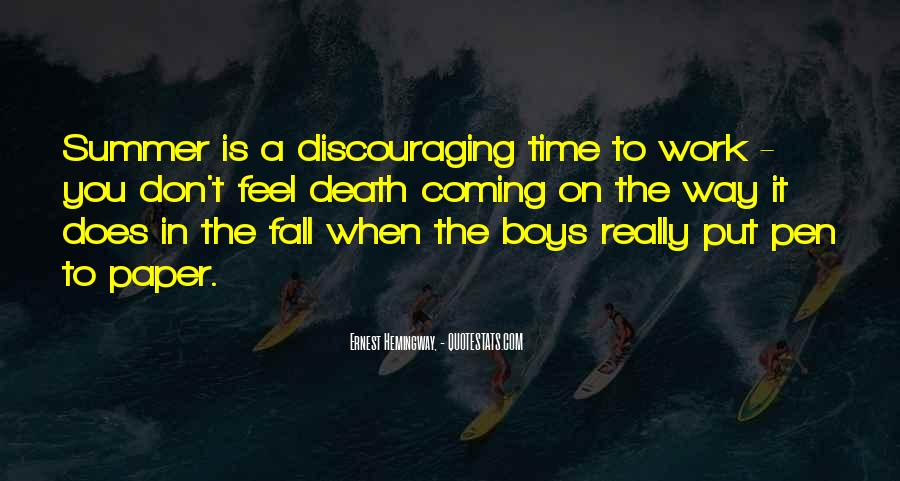Quotes About Discouraging #274141