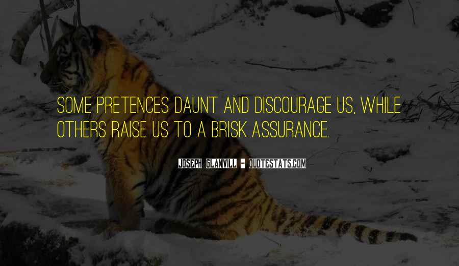 Quotes About Discouraging #307297