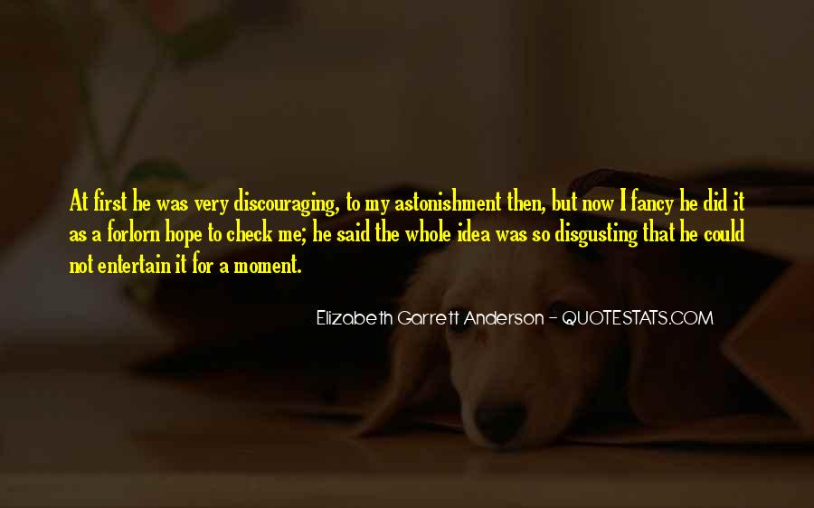 Quotes About Discouraging #663461