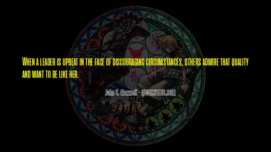 Quotes About Discouraging #703327