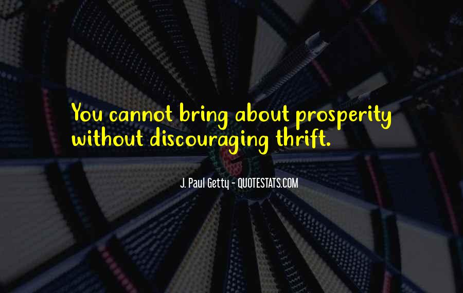 Quotes About Discouraging #716199