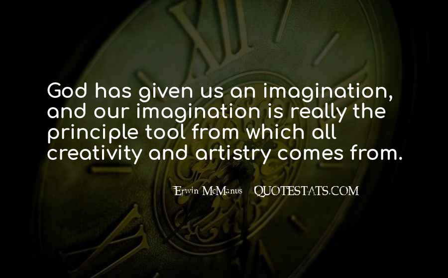 Quotes About Creativity And God #1216561