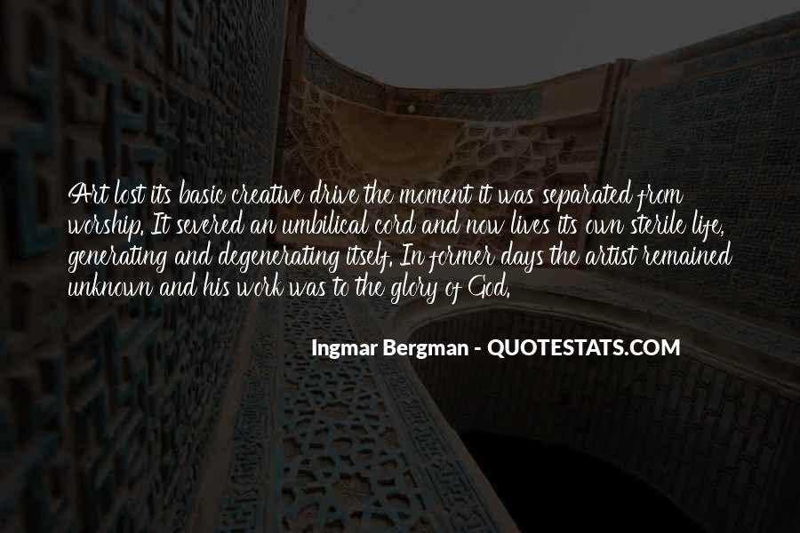 Quotes About Creativity And God #1493381
