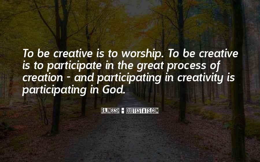 Quotes About Creativity And God #351151