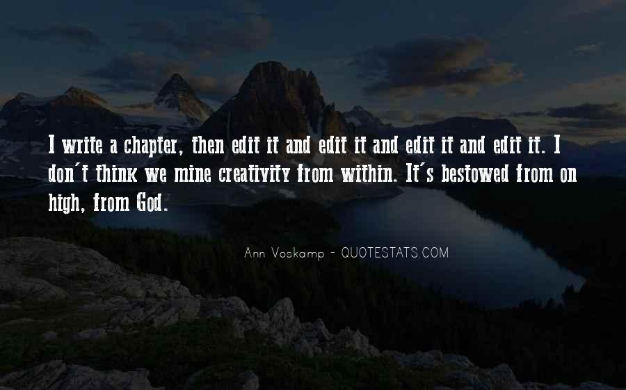 Quotes About Creativity And God #773069