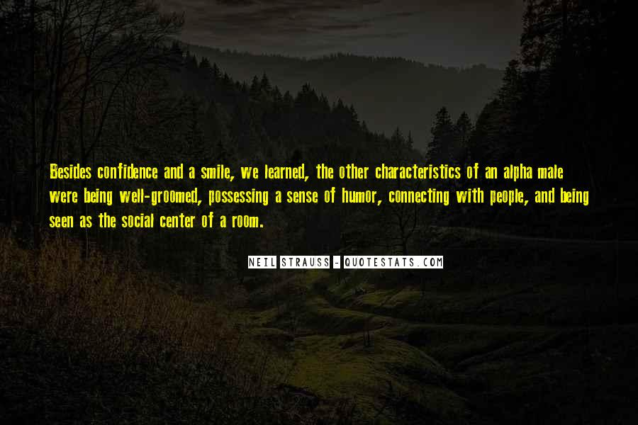 Quotes About People's Characteristics #1739940
