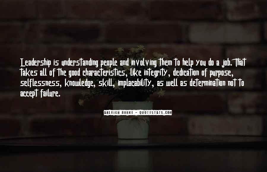 Quotes About People's Characteristics #1751587