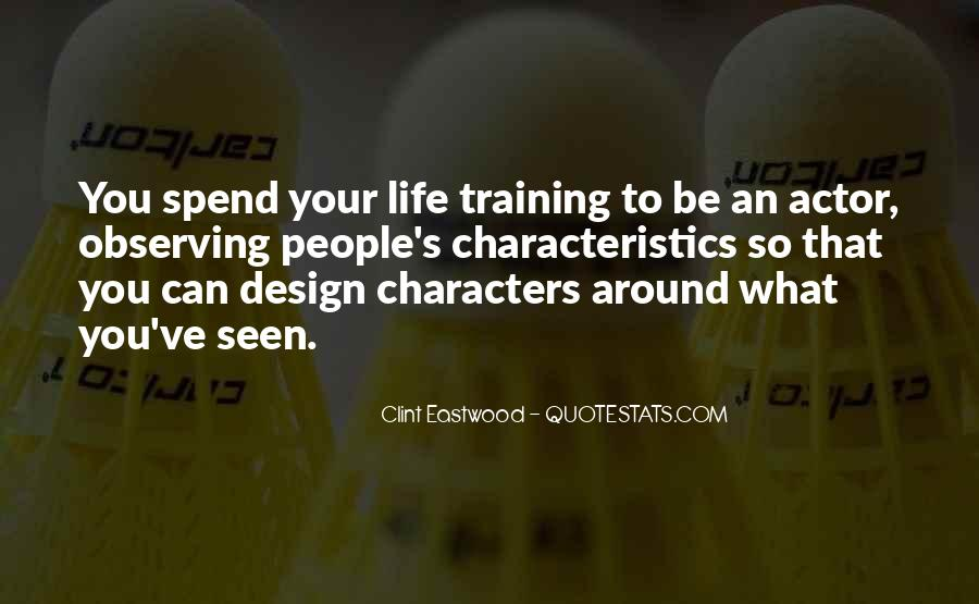 Quotes About People's Characteristics #1775833