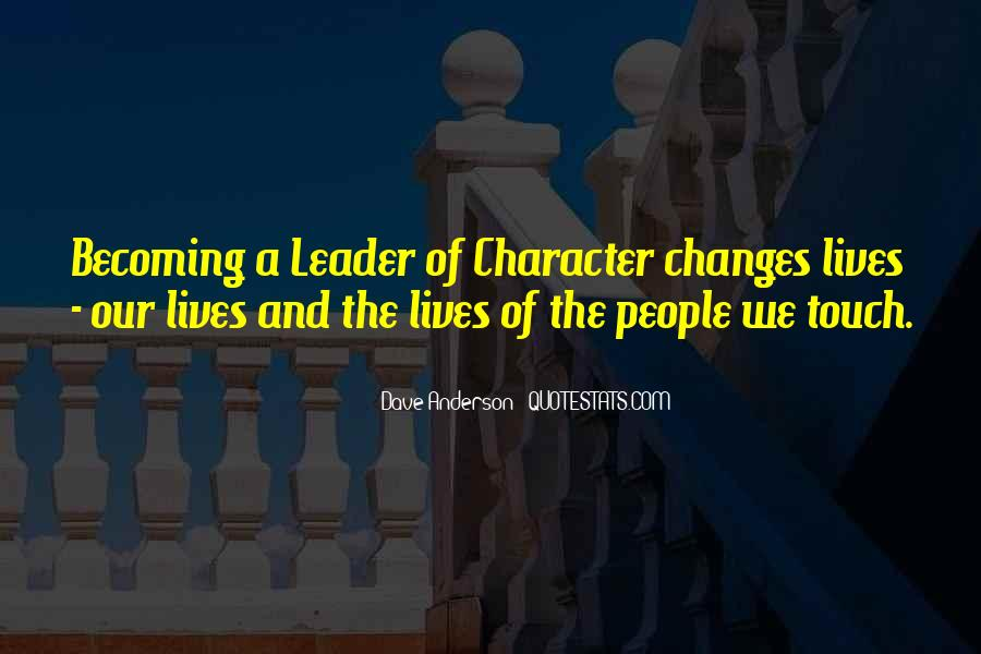 Quotes About People's Characteristics #197898