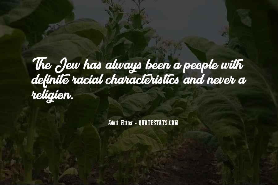 Quotes About People's Characteristics #375739