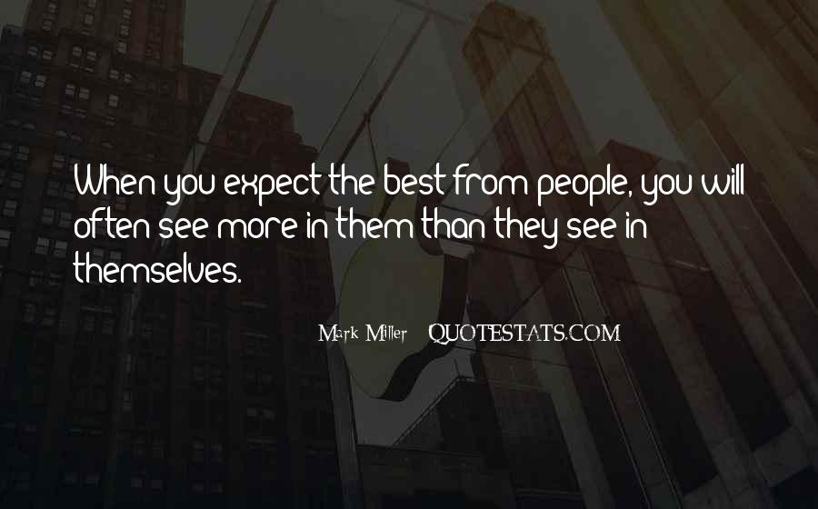 Quotes About People's Characteristics #640855