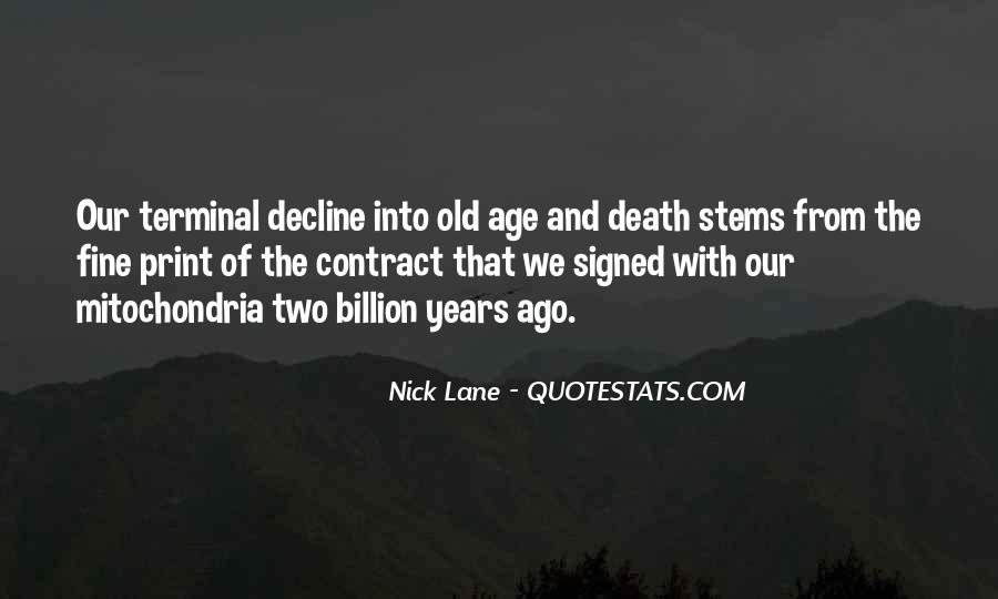 Quotes About Old #6711