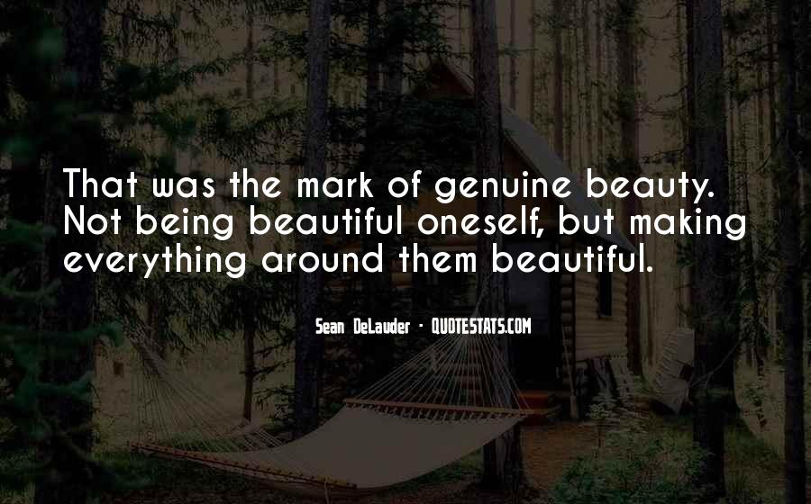 Quotes About Making Things Beautiful #71897