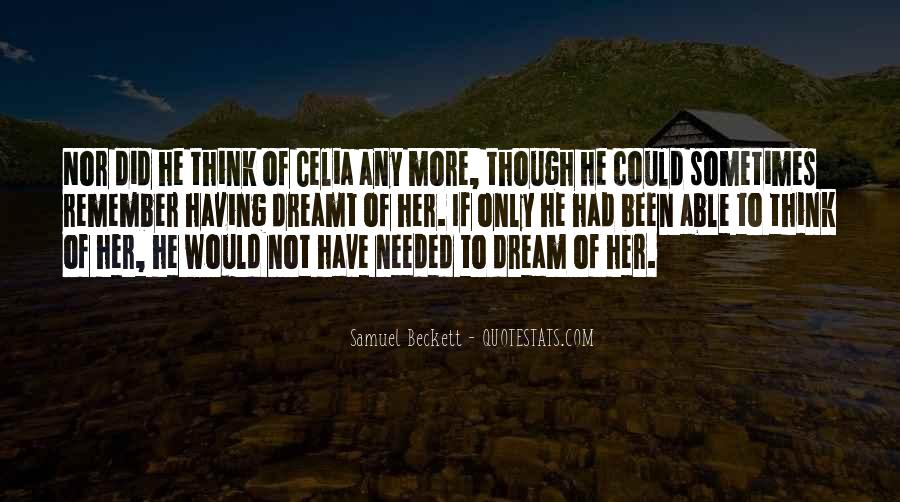 Quotes About What Dreams May Come #1257