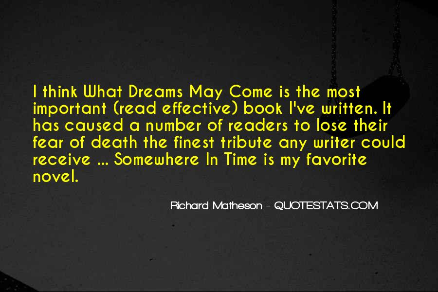 Quotes About What Dreams May Come #1617888