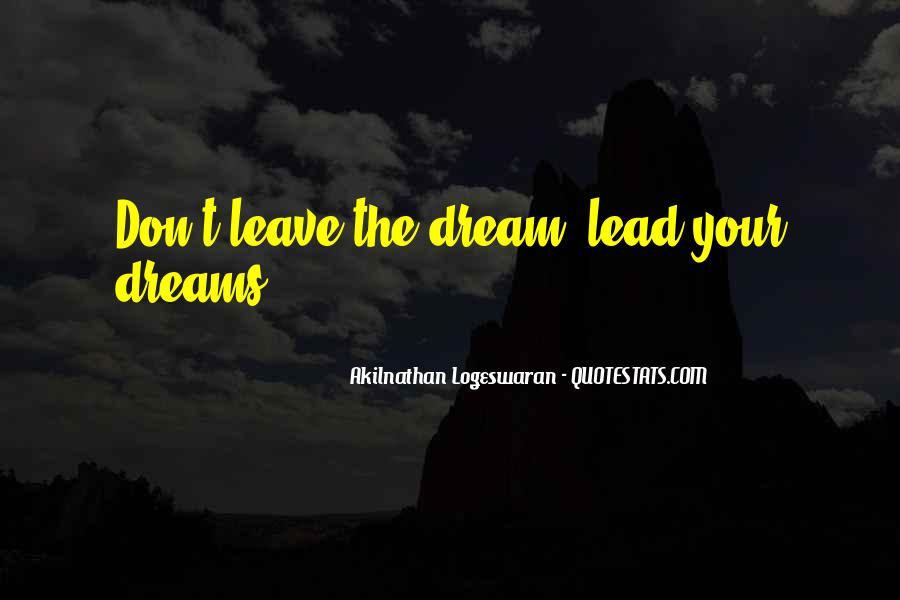 Quotes About What Dreams May Come #4838