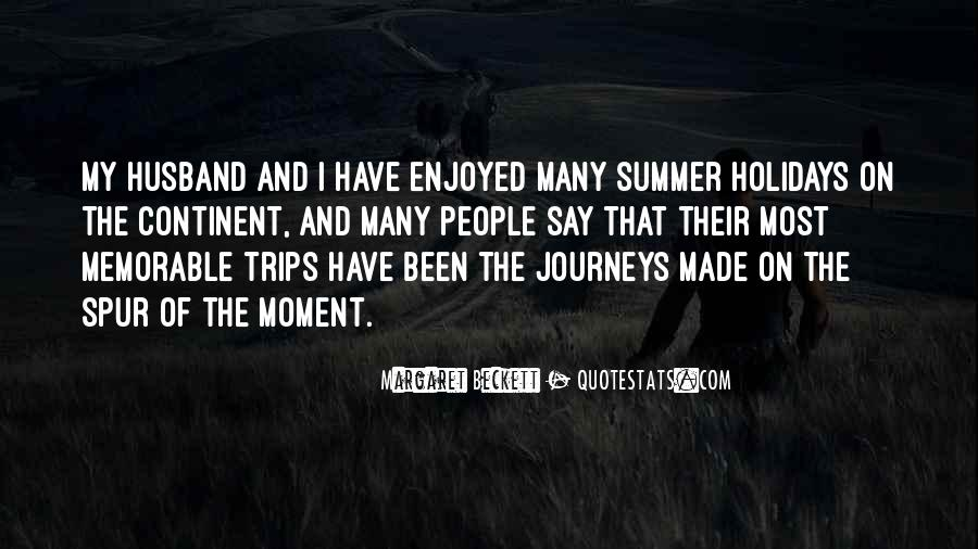 Quotes About Memorable Summer #408602