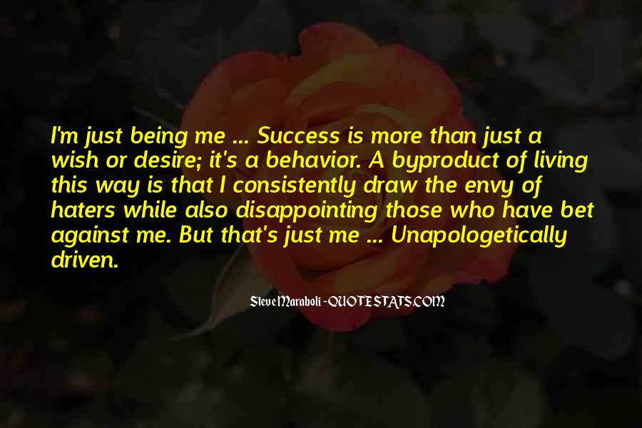 Quotes About Success And Haters #1798045