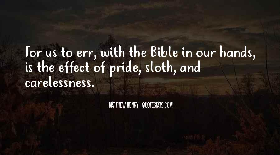 Quotes About Pride In The Bible #1388144