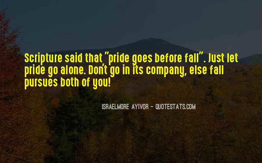 Quotes About Pride In The Bible #171997