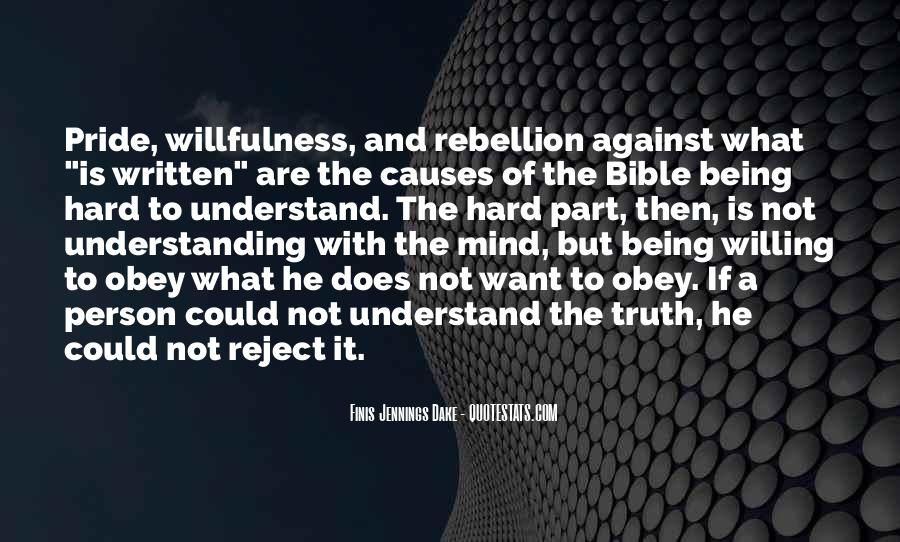 Quotes About Pride In The Bible #1875490