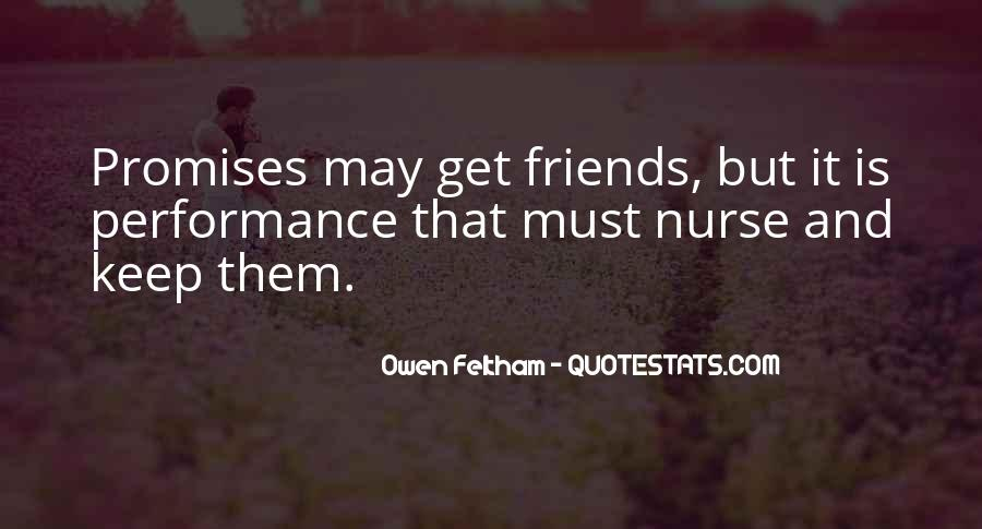 Quotes About Promises And Friends #512525