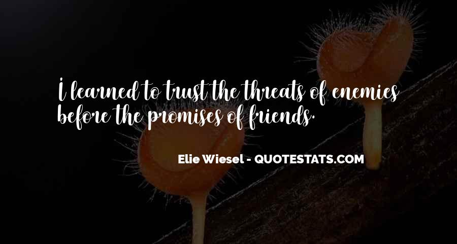 Quotes About Promises And Friends #796717