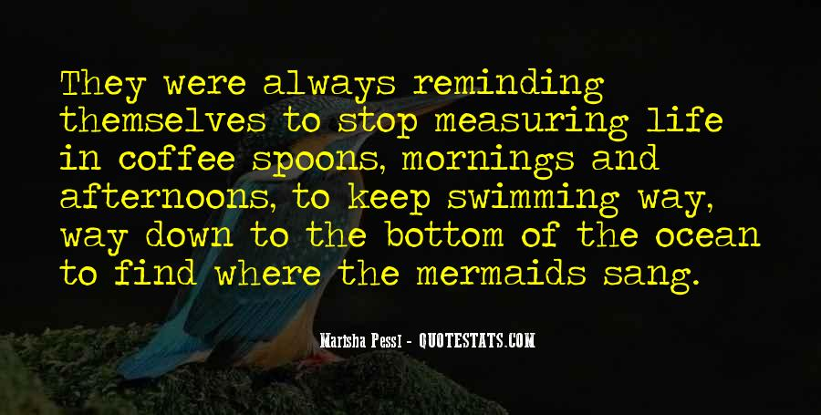 Quotes About The Ocean And Mermaids #995603