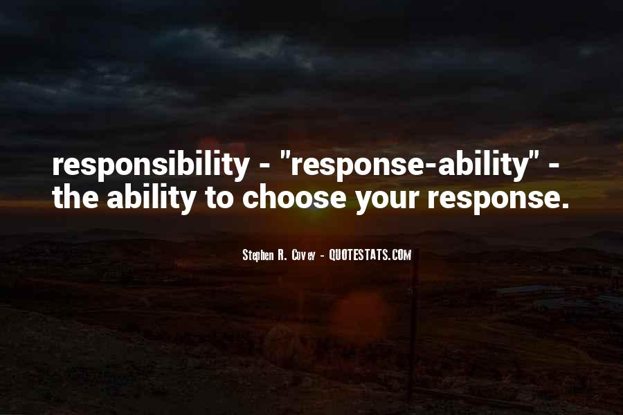 Quotes About Ability To Choose #1265142