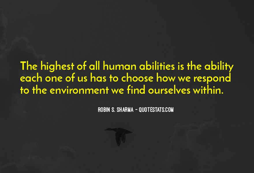 Quotes About Ability To Choose #1584503
