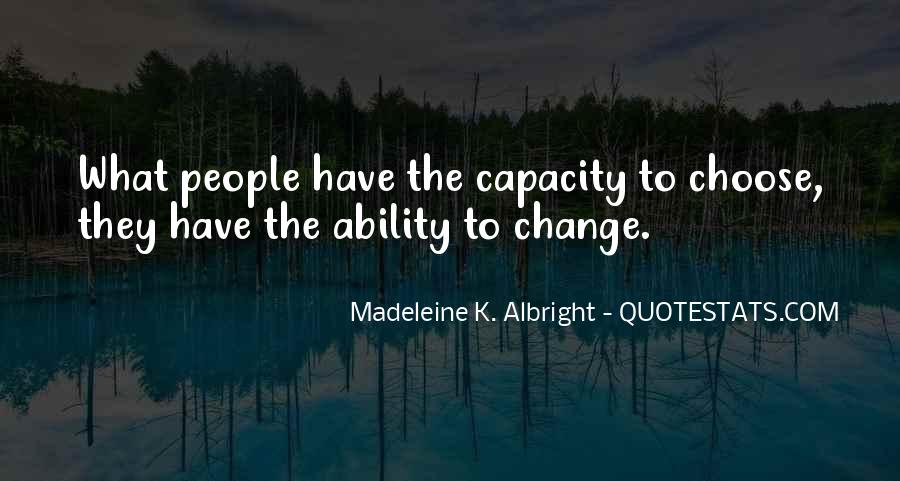 Quotes About Ability To Choose #216256