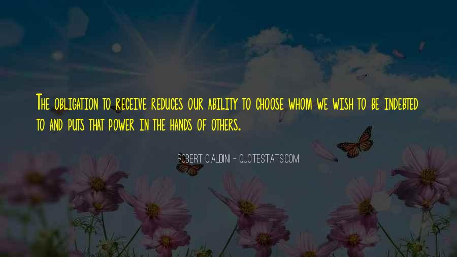 Quotes About Ability To Choose #321831
