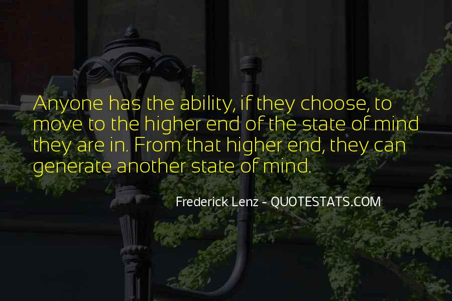 Quotes About Ability To Choose #340307