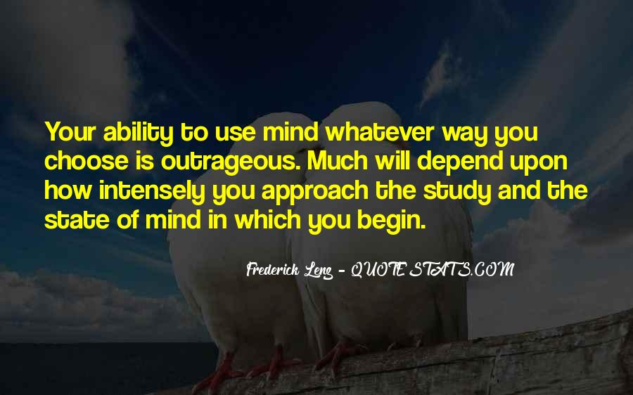 Quotes About Ability To Choose #443877