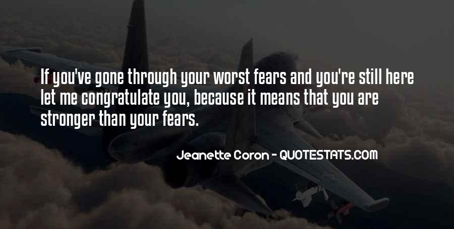 Quotes About Facing Fears #1109743
