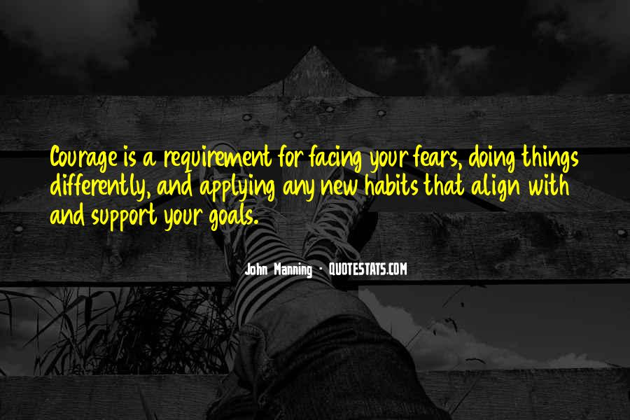Quotes About Facing Fears #1684820